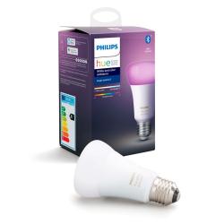 Philips Hue LED Pære E27 Farvet 806lm - BT