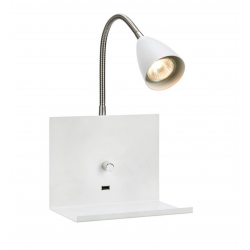 LOGI LED Væglampe Hylde...