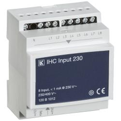IHC Control Input 230 V AC med 8 indgange - Lauritz Knudsen