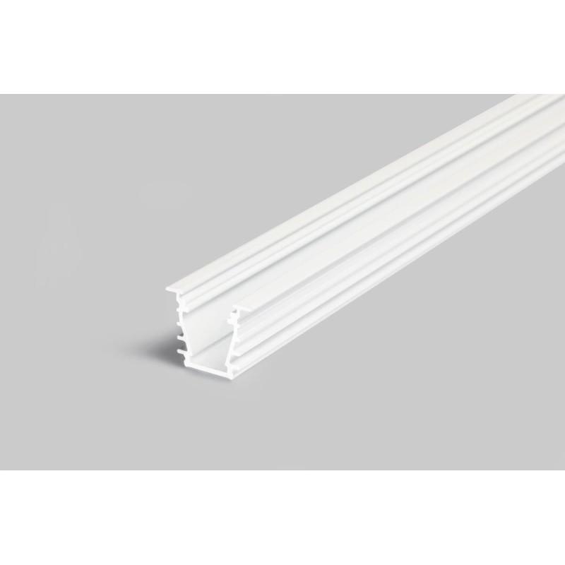 Alu Profil D i Hvid For LED Bånd Til...