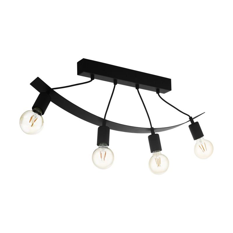 EGLO Labaretu Loftlampe Med 3xE27 I Sort