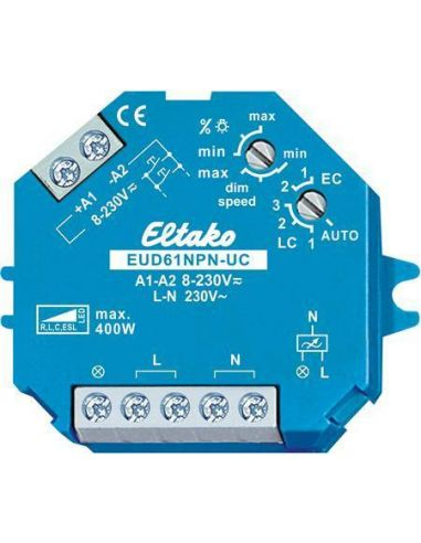 Eltako Lysdæmper 0-400W (100W LED) 8-230V For Dåse