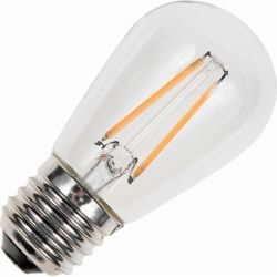 Schiefer E27 DECO LED S-shape Pære 1,5W 150Lm 2500K