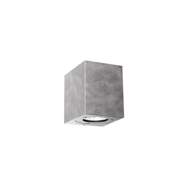 Canto LED Kubi Udendørs Væglampe Nordlux - Galv. Stål