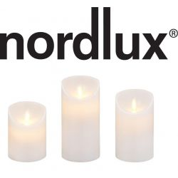 Nordlux BREEZE 3-Kit LED Bloklys Med Timer i Hvid