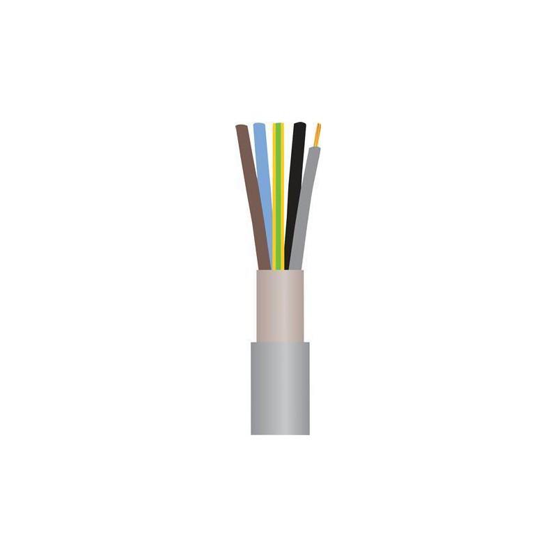 Installationskabel let HF 5G1,5mm² - Halogenfri Ø9,0mm - 50 mtr.