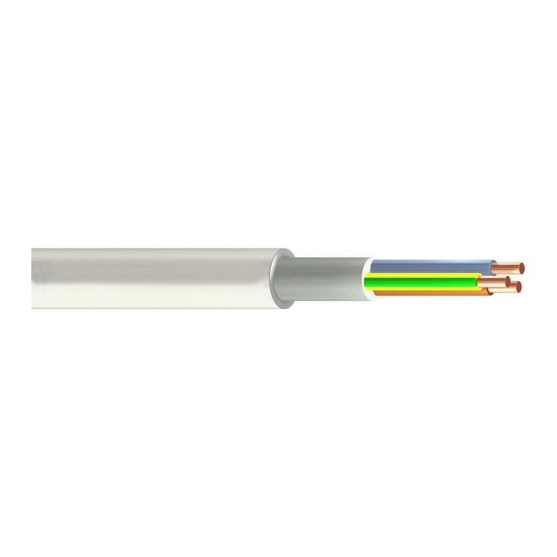 Installationskabel let HF 3G1,5mm² - Halogenfri Ø7,7mm - 50 mtr.