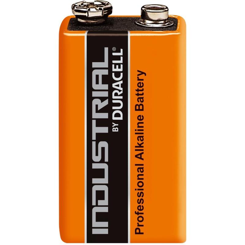 Duracell Industrial, 9V batteri, 6LR61 - Professionelt batteri fra Amerikanske Duracell