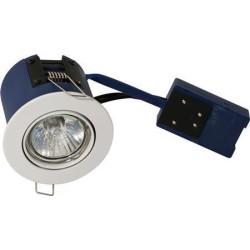 BLUE-DL Spot Fjeder GU10 18W ISO i Hvid