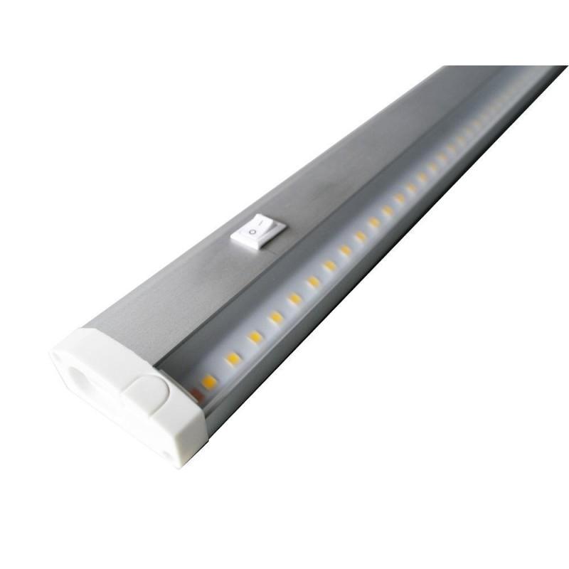 Misa Ultra Slimline LED Armatur 10W 230V 3000K 800Lm Ra94 - Længde 60cm