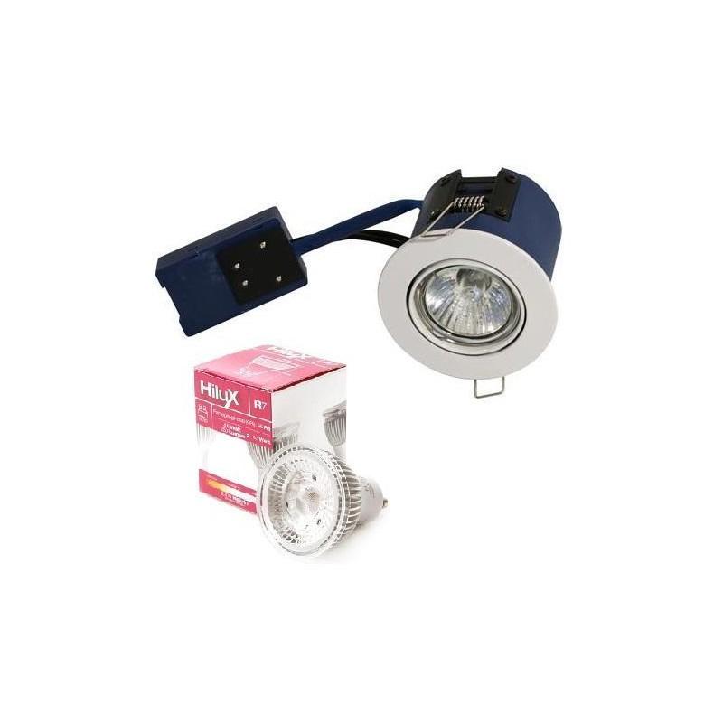 Easy2Setup LED indbygningsspot 4,5W 2700K Ra95 60° - Hvid