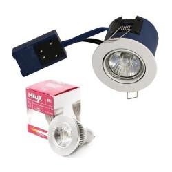 BLUE Hilux R8 LED indbygningsspot 4,5W 2700K Ra95 60° - Hvid