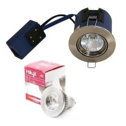 Easy2Setup LED Spot 4,5W Varm Hvid 2700K Ra95 - Børstet