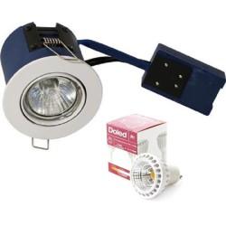 BLUE Hilux R1 LED indbygningsspot 5W 2700K Ra91 60° - Hvid