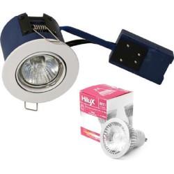 BLUE Hilux R10 DimTone LED Spot 7W 1800-2700K Ra95 60° - Hvid