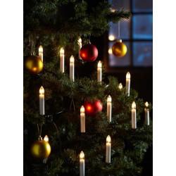 LIGHTCHAIN LED Lyskæde 16 Lys i Varm Hvid