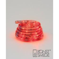 LED Lysslange 9 Meter 230V i Rød - Konstsmide