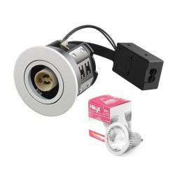 Hilux R10 LED Downlight 230V 7W 2700K Ra95 380Lm - Hvid
