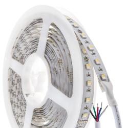 HiluX RGBW LED Bånd 12V - 4-i-1 - 5 Meter Rulle