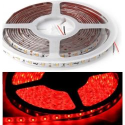 5 meter LED Bånd, 12V, Rød, IP65, 14,4W/m, 4500LM - HiluX