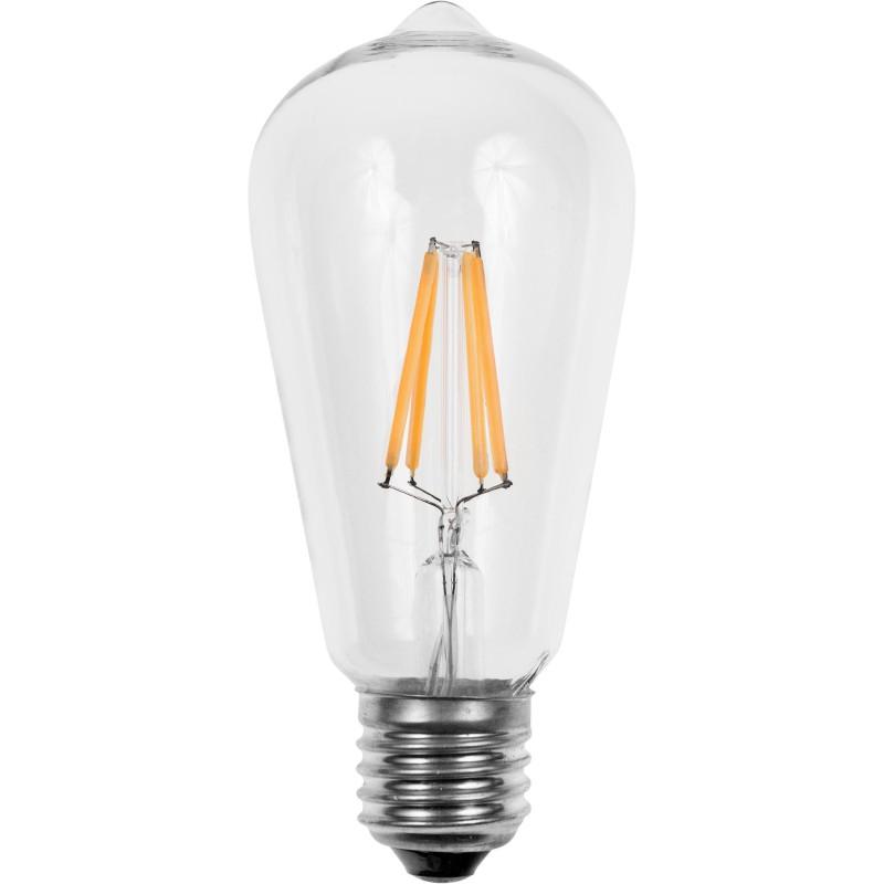 Schiefer Edison E27 LED pære 6W i 2200K Dæmpbar 480Lm Ra95