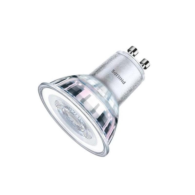 Philips Classic LED GU10 pære, 5,5W, Varm hvid i 2700K og hele 350LM, Dæmpbar