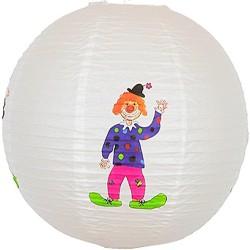 Børnelampe med klovnemotiv, 40 cm