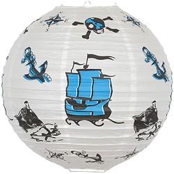 Børnelampe med piratmotiv, 35 cm