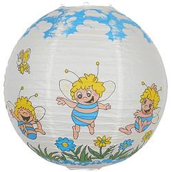Børnelampe med motiv af en sød bi, 40 cm