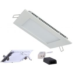 TOLED LED Panel 12W 3000K 960Lm Ra90 - Firkantet