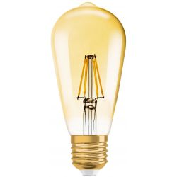Vintage 1906 E27 LED Edison 7W 2700K 710 Lumen Guld