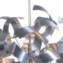 Twister 44 P1 Pendel Lampe Ø40 cm - Børstet Stål