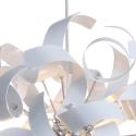 Twister 44 P1 Pendel Lampe Ø40 cm - Satin Hvid