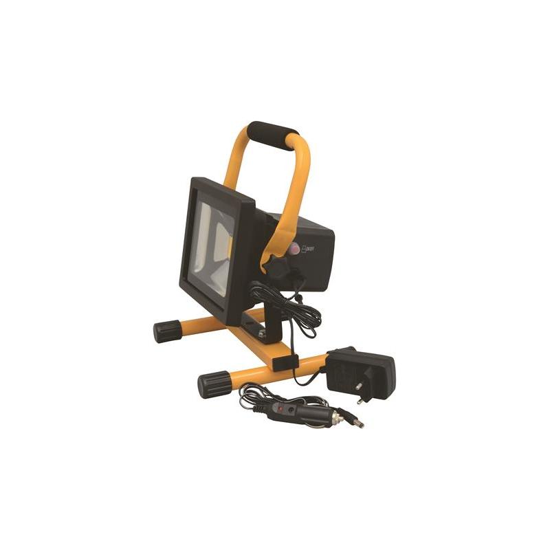 Usædvanlig Castor LED Arbejdslampe 20W Genopladelig 12V/230V RT81