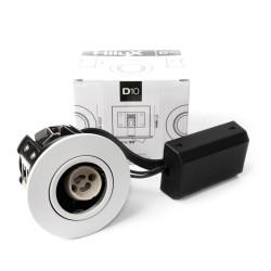 Hilux D10 Indbygningsspot 65mm 230V GU10 - Hvid