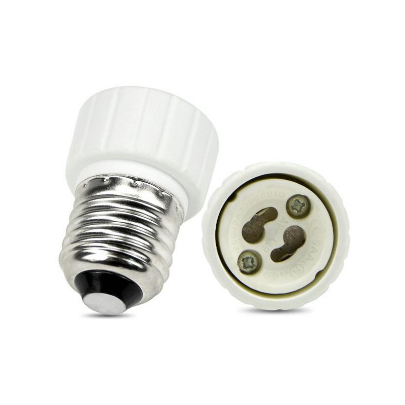 E27 til GU10 adapter