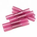 10 stk. Diolight Pressemuffe m. krympeflex, 0,5mm² - 1,0mm²