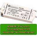 LED Driver, 4,6V til ID-LED Spot, 6 Udgange