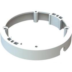 Påbygningsring, Hvid til ID-LED spot og Loevschall 12V indbygningsspot til G4 stiftpære
