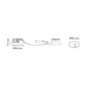 Junistar Soft LED Downlight i Mat Hvid 10W 2700K Ra90