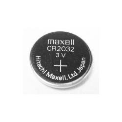 Maxell CR 2032 knapcellebatteri, 3V, Lithium