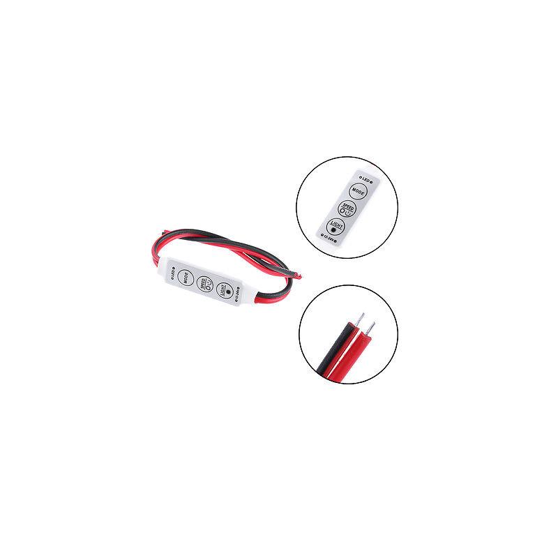 Mini LED lysdæmper, 12-24V, Multifunktion