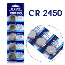 Da Vinci® CR2450, Knapcellebatteri, 3V, Lithium