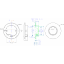HiluX D1 LED Spot 3W 2700K 200Lm Dim Ra95 - Børstet