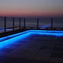 5 meter kongeblå LED Bånd, 12V, IP65, 4000LM, 12W/m - HiluX