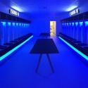5 meter kongeblå LED Bånd, 12V, IP65, 4000LM, 12W/m - HiluX - Omklædningsrum, Esbjerg forenede Boldklubber, EfB