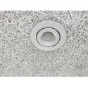 AD12 LED Downlight 230V 9W 3000K Ra96 600Lm i Børstet - 60°