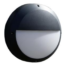 HiluX Halvmåne Med Sensor LED 13W 230V - Grafit
