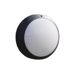 HiluX Fuldmåne Med Sensor LED 13W 230V - Grafit