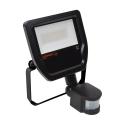 I-Glow LED Projektør Med PIR Sensor 10W 3000K 600LM Ra80